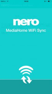 Nero MediaHome WiFi Syncアプリ